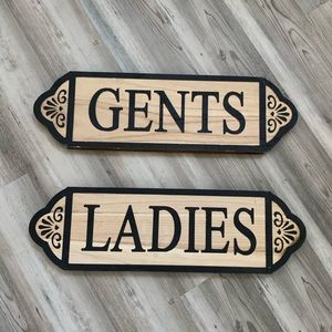Other - RESTROOM SIGNS